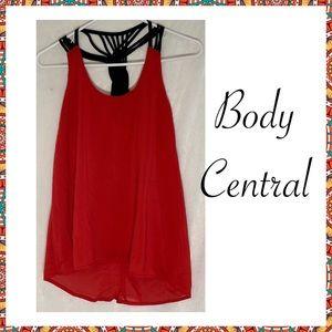 Body Central Small Silk Tank Top